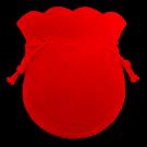 Velvet Coin Pouch (Red)