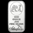 1oz Silver Bar SilverTowne USA