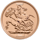 The Sovereign by The Royal Mint (Mixed Years)