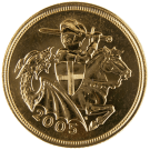 2005 Gold Full Sovereign