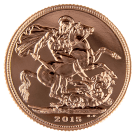 2015 Gold Full Sovereign