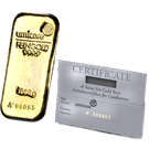 1 Kilogram Gold Cast Bar Umicore