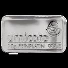 Umicore 10 Gram Platinum Bar 999.5