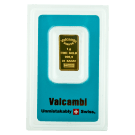Valcambi Blue 1 Gram Gold Bar