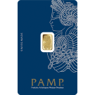 1g Fortuna Gold Bar | Veriscan | PAMP Suisse