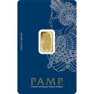 2.5 Gram Gold Bar PAMP Fortuna Veriscan