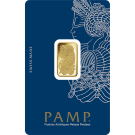 5 Gram Gold Bar PAMP Fortuna Veriscan