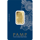 10 Gram Gold Bar PAMP Fortuna Veriscan