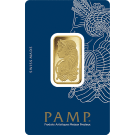 20 Gram Gold Bar PAMP Fortuna Veriscan