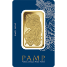 50g Gold Bar PAMP Fortuna Veriscan