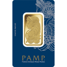 1oz Gold Bar PAMP Fortuna Veriscan
