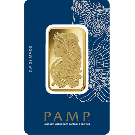 1oz Gold Bar PAMP Fortuna (PO)