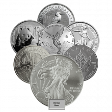 Our Choice 1oz Silver Coin Investment Market
