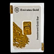 10 Gram Gold Bar Boxed Emirates Gold