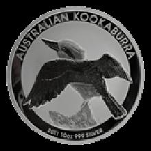 10oz Silver Kookaburra Mixed Years (Australia)