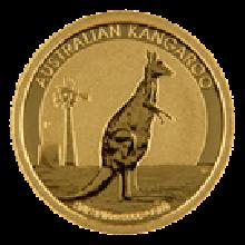 Mixed Years 1/10oz Gold Kangaroo   Perth Mint