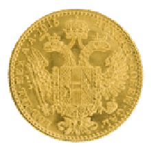 Gold 1 Ducat Mixed Years (Austria)