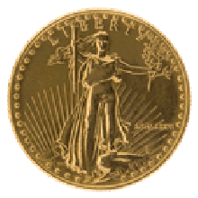 1/2oz Gold $25 Eagle Mixed Years (America)