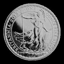 2013 1oz Silver Britannia