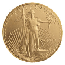 1oz Eagle Gold Coin (Mixed Years)