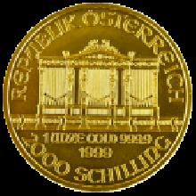 1oz Gold Philharmonic (Austria) Mixed Years