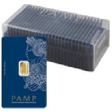 25 x 1 Gram Gold Bars PAMP Fortuna Veriscan in Box | Special Offer