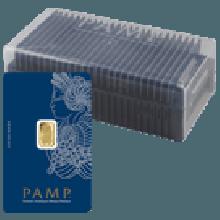 25 x 1 Gram Gold Bars PAMP Fortuna Veriscan in Box