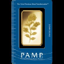 50g Rosa Gold Bar | Certicard | PAMP Suisse