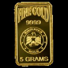 5g Gold Bar Blister Pack | Emirates Gold
