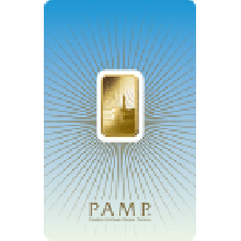 5 Gram Gold Bar PAMP Mecca - Faith Series