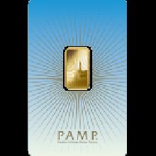 5 Gram Gold Bar PAMP Mecca - Faith Series