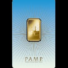 10g Ka 'Bah Mecca Gold Bar | 'Faith' Range | PAMP Suisse