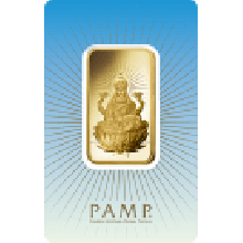 1oz Lakshmi Gold Bar | 'Faith' Range | PAMP Suisse