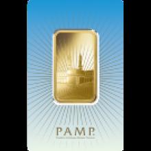 1oz Gold Bar PAMP 'Faith' Ka ' Bah Mecca