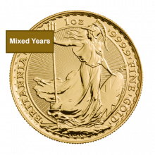 Mixed Years 1oz Gold Britannia Coin   The Royal Mint