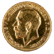 1911-1932 Gold Full Sovereign (King George V)