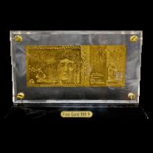Gold Effect 100 Australian Dollar Note