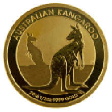 1/2oz Gold Kangaroo Mixed Years - Perth Mint (Australia)