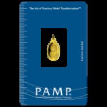 PAMP 1 Gram Fortuna Oval Gold Investment Bar