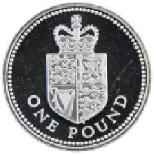 Silver Proof £1 Mixed Years