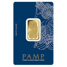 1 Tola Fortuna Gold Bar | Veriscan | PAMP Suisse