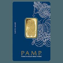 1 Tola Gold Bar PAMP Fortuna Veriscan SM