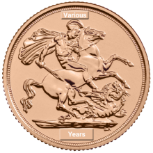 The Sovereign by The Royal Mint | Mixed Years