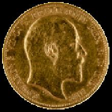1902-1910 Gold Full Sovereign (King Edward VII)