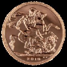 2015 Gold Full Sovereign