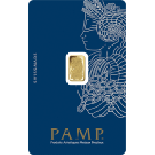1 Gram Gold Bar PAMP Fortuna Veriscan