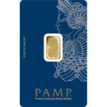 2.5g Fortuna Gold Bar | Veriscan | PAMP Suisse