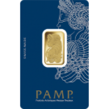 10g Fortuna Gold Bar | Veriscan | PAMP Suisse