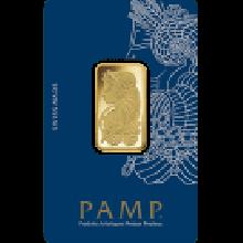 20 Gram Gold Bar PAMP Fortuna Veriscan