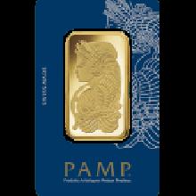 50g Fortuna Gold Bar | Veriscan | PAMP Suisse